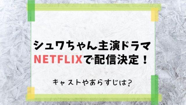 シュワちゃん ドラマ Netflix