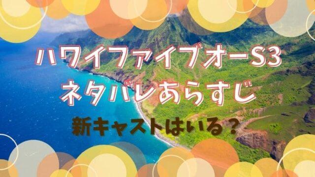 ハワイファイブオー シーズン3 ネタバレ