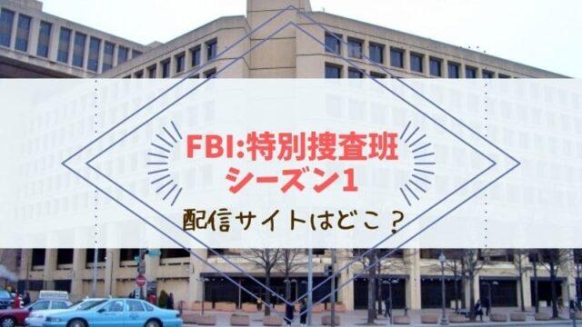 FBI:特別捜査班 配信